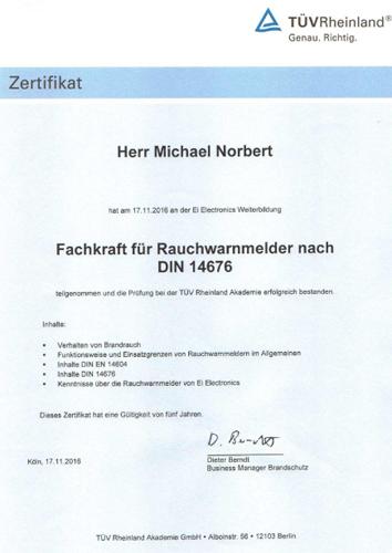 zertifikat-din14767